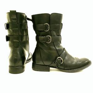 Born Moto Short Leather boot Sz 8M
